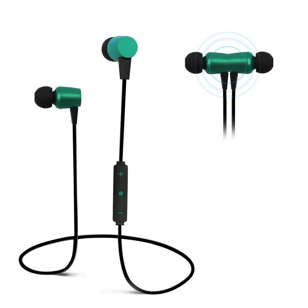 Wireless Bluetooth Headset Sport Stereo Earphones Headphones Earbuds With Mic