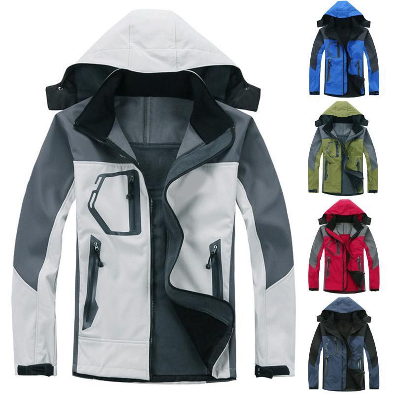 2021 Женщины лыжная карманная куртка # T2G Зимний Водонепроницаемый Пальто Теплый Унисекс Куртка Ветровка Вершина Плащ Унисекс Велоспорт Капюшон Poclm