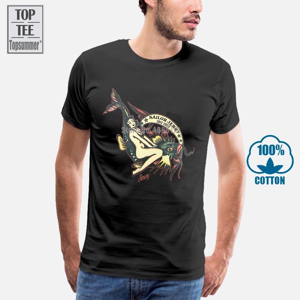 Sailor Jerry Tattoo Off The Hook Pin Up Girl Slim Fit da marinha de Nova Imprimir camisola do Hoodie Estilo Moda Verão Top Sport camiseta com capuz