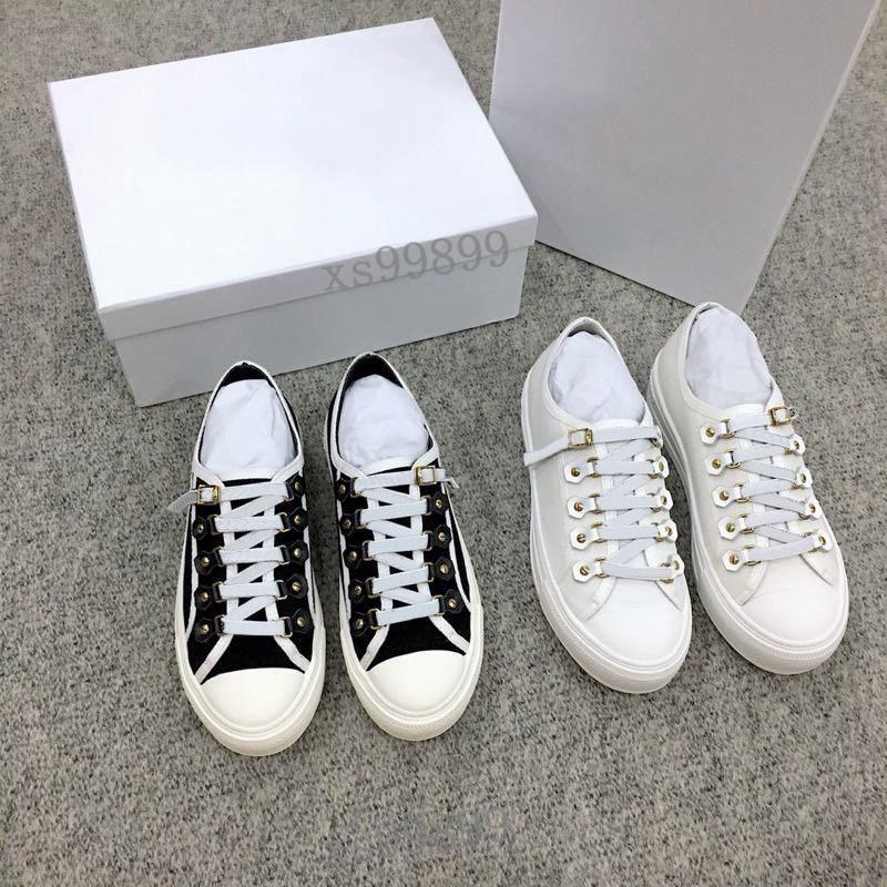 Dior shoes Yeni Güzel Kadınlar Yürüyüş Sneaker Eğik Teknik Mesh Sneakers Klasik Platform Ayakkabı Grils Dantel-up Eğitmenler Açık Ayakkabı