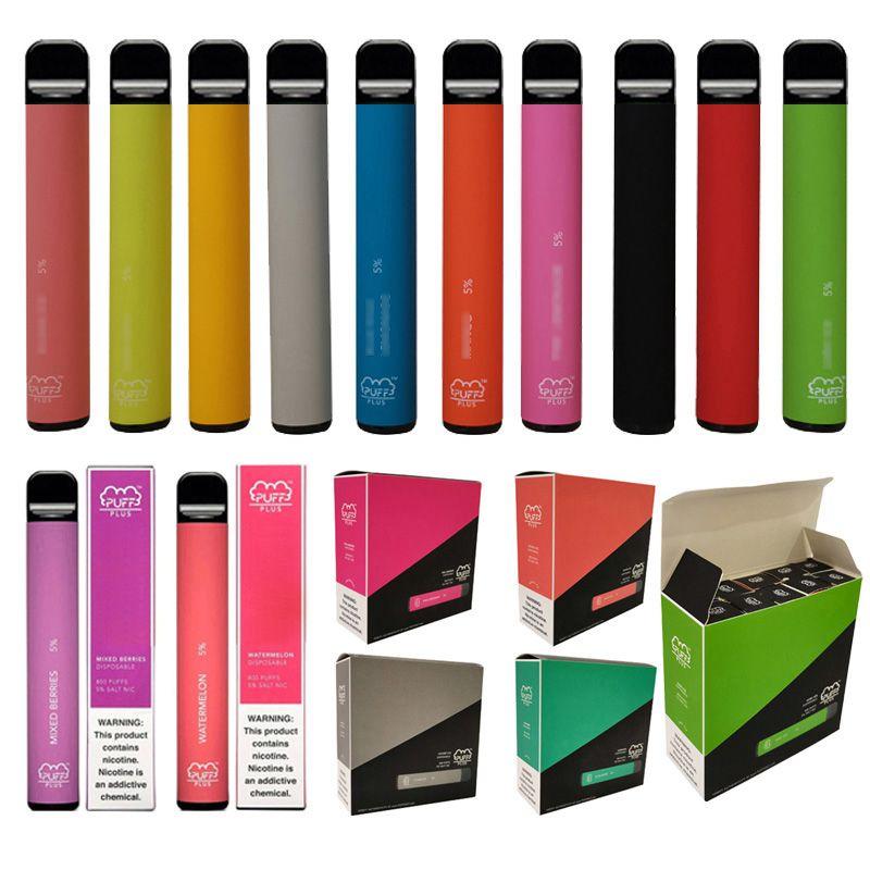 Хорошая цена 800 Puffs 550 мАч Батареи Battery Puff Plus Prough Prop Propor E Электронная сигарета одноразовая ручка из дерева Plip Plus