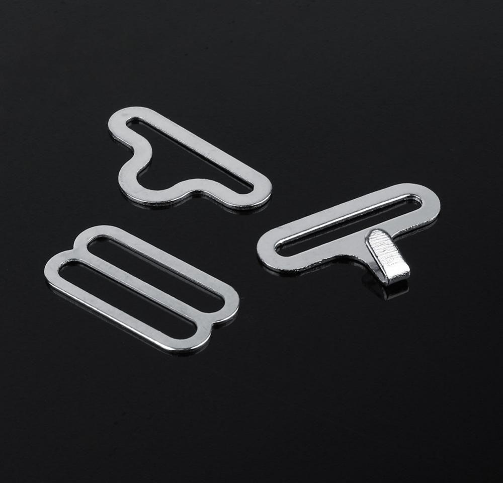 50 Sets Bow Tie Hardware Necktie Hook Bow Tie Cravat Clips Fasteners To Make Adjustable Straps bbyNWW ladyshome