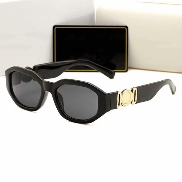 Mulheres Mulheres Marca Tonalidades PC Óculos de Sol Quadro Ao Ar Livre Clássico de Luxo para Óculos De Moda Adumbral Espelhos Sunglasses Lady 4361A DKQOI