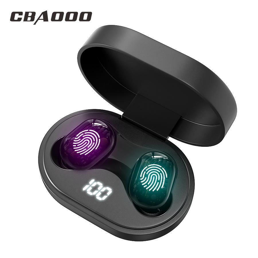 J15 Bluetooth auriculares estéreo verdadero TWS 5.0V inalámbrico de auriculares deportivos 6D Gaming Headset impermeable con doble micrófono