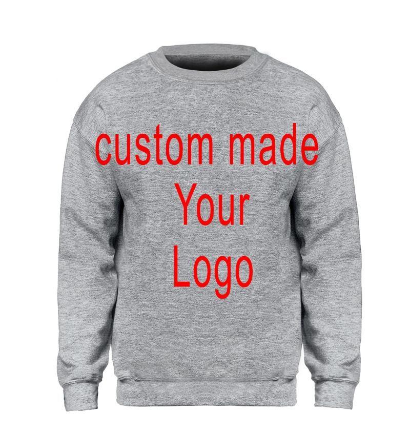 Kazak Erkekler Kapüşonlular Crewneck Custom Made Özelleştirme Your Logo Spor Streetwear