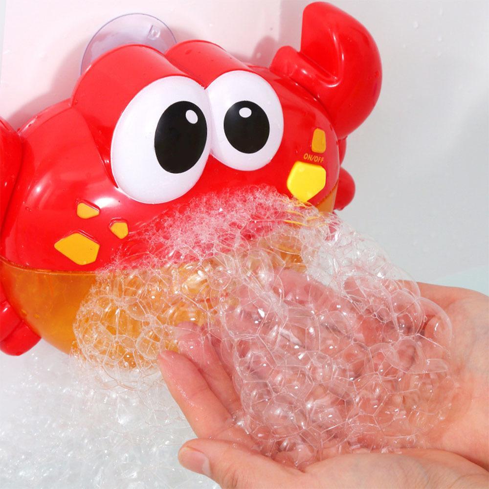 Bubble Crabs Music Детские игрушки для ванны Детский бассейн плавательный ванна мыла автомат автоматический пузырь смешной краб лягушка кита утка octegus 201016