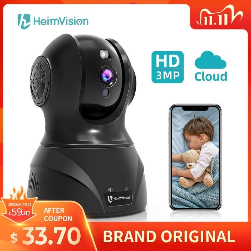 Camera HeimVision HM302 3MP dell'interno del IP WiFi Pet bambino della macchina fotografica / Nanny visione notturna del monitor Compatibile con Alexa Sicurezza Wireless