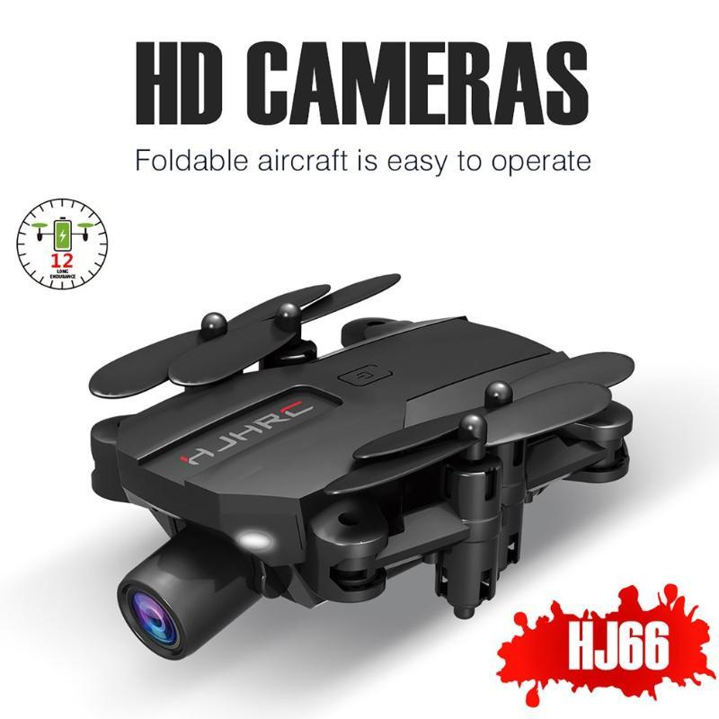 HJ66 Mini Drone 1080P / 4K HD камера Live Video Drone Quadcopter Профессиональные фотографии Складная Helicopter RC Детский Подарки