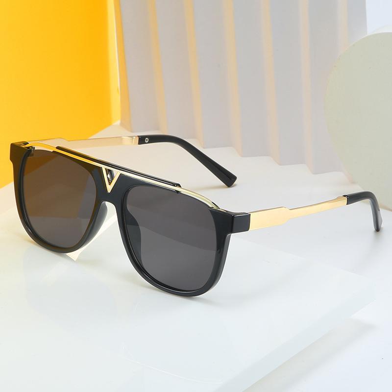 LONSY Praça Retro Oversize Sunglasses Mulheres Projeto óculos de sol Mulher Driving Eyewear Masculino
