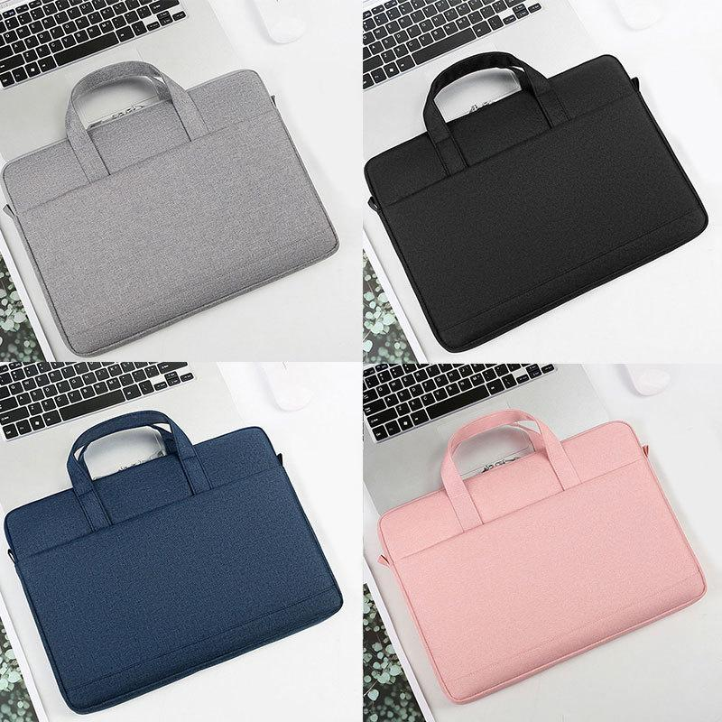 HBPDust-proof Sleeve Macbook Case Scratch-proof Bag Waterproof Notebook Cover Laptop Package Solid Color Q0112