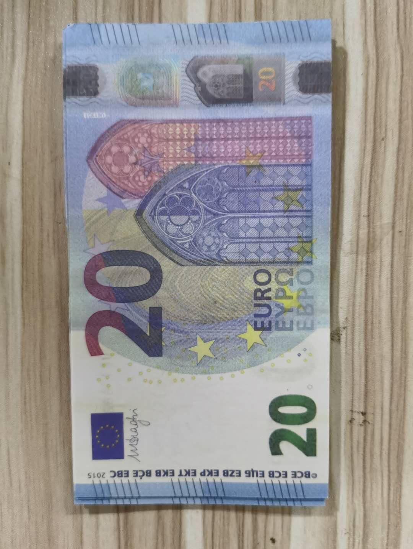 20 geld Am realistischen Anmerkung Business Collection Nachtclub Filmpapier Gefälschte Bank Requisite 14 Geldplay Euro für Geld Kopieren Llkfq