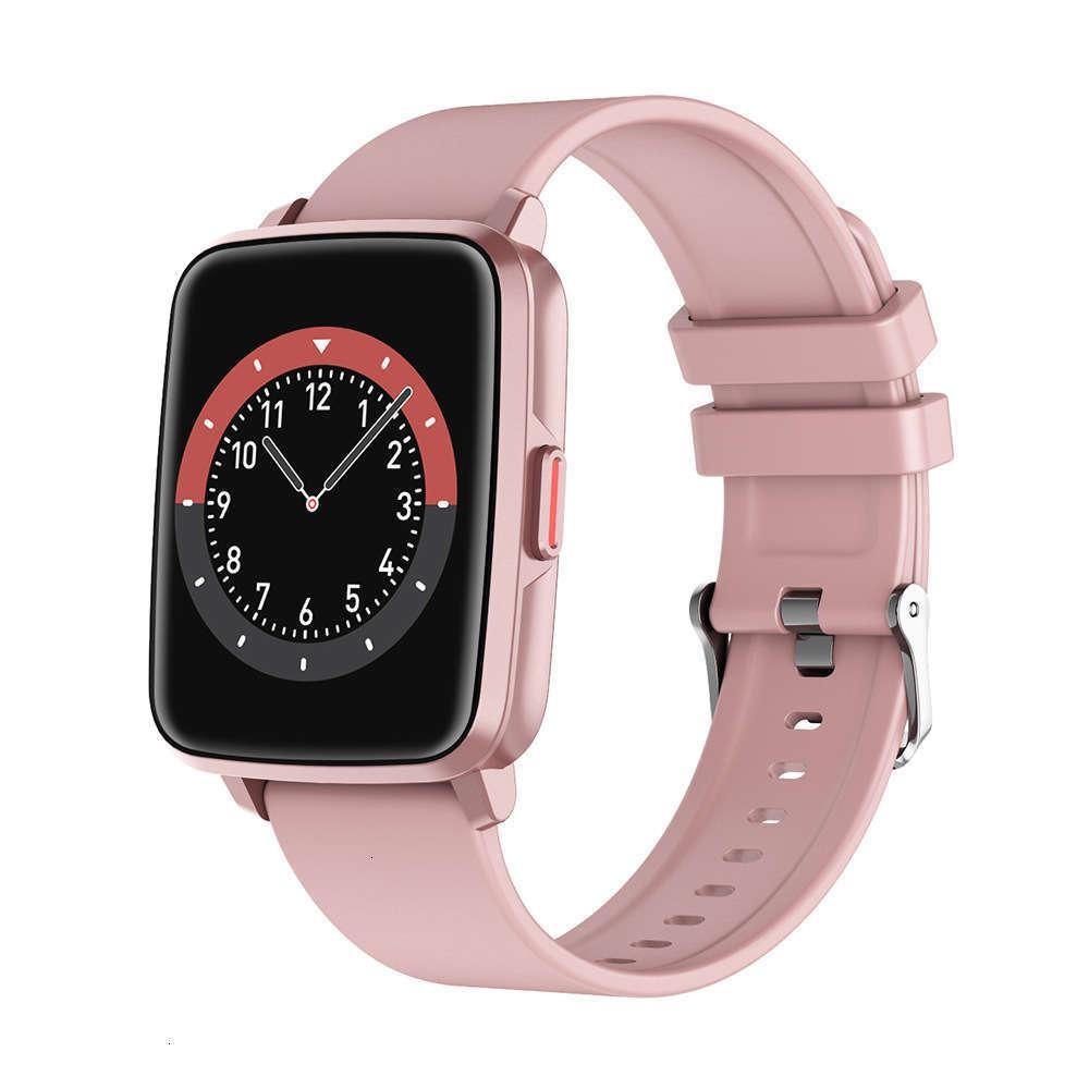 Novo I68 Pulseira Taxa de Coração Temperatura Sangue Prsure Health Music Movement Track Bluetooth Smart WatchJK