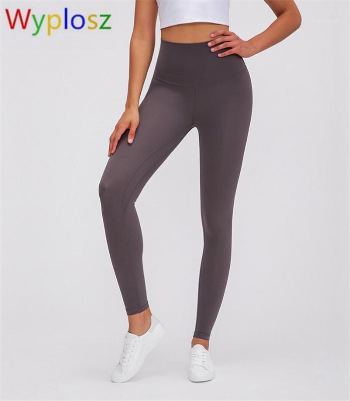 Yoga Outfits Wyplosz Fitness Leginging Super Высокая талия Классика 2.0 Обнаженные Брюки Упругости Электрические Тренировки Леггинсы Спортивный тренажерный зал Леггинсы1