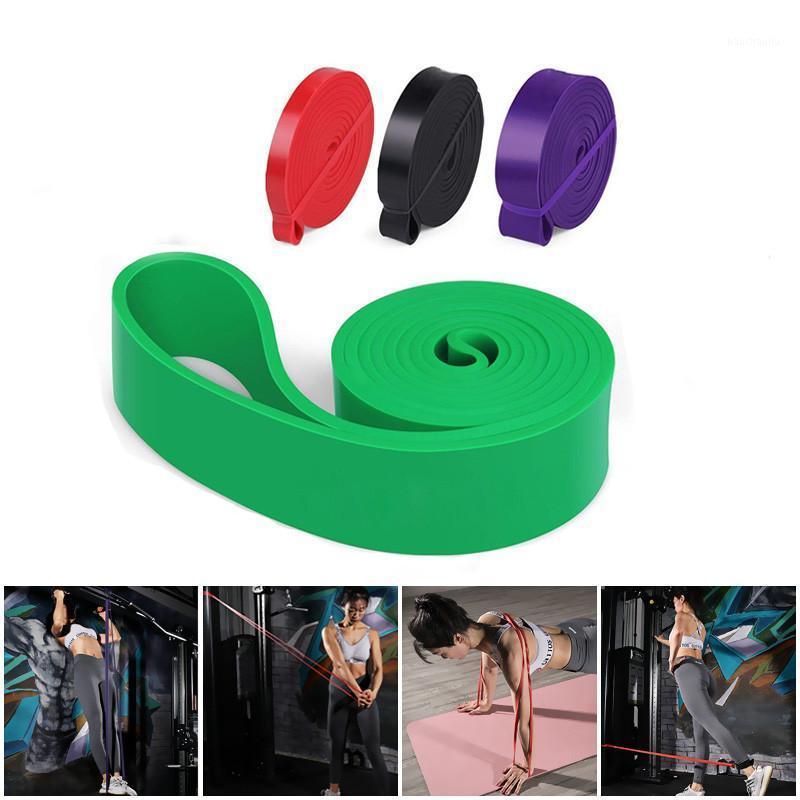 Фитнес-резистентные полосы ленты разминки петли упругая полоса лент латекс расширитель прочности пилатес йога обучающее оборудование Unisex1