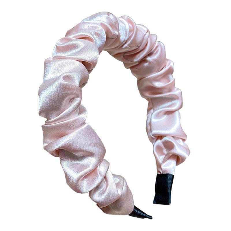 Mode plissés femmes Bâtons de cheveux bandeau mignon design femmes bandeau filles cheveux accessoires pour femmes bandes de cheveux de créateurs