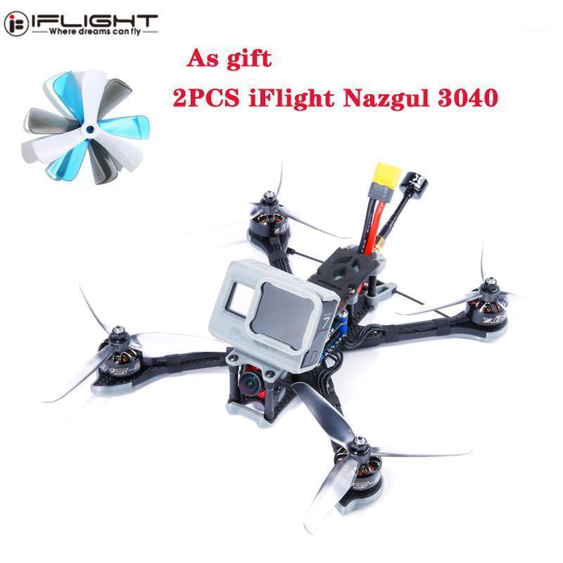 iflight nazgul5 227mm 4s 2750kv / 6s 1700kv 5 pulgadas F4 CADDX RAPEEL 45A ESC FPV Racing Drones Mini Drone GPS Profesional BNF PNP1