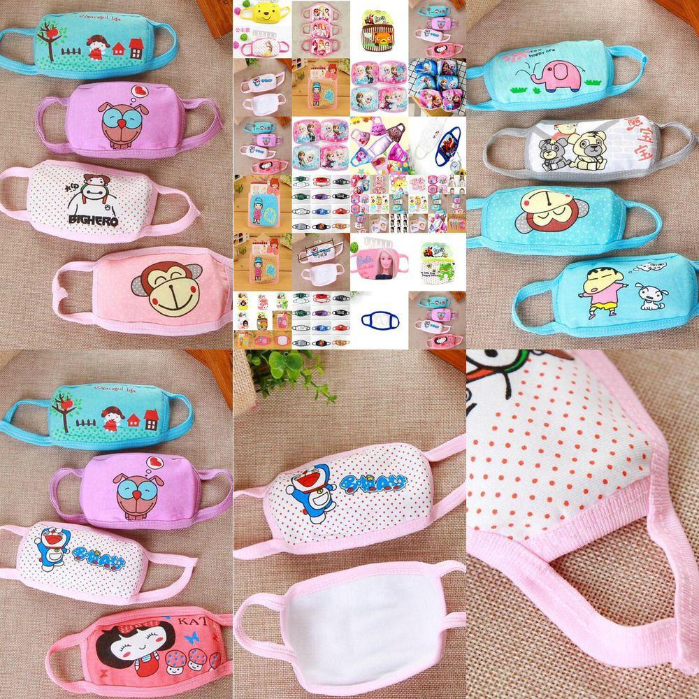 Cubreboca Maschera Maschere Earloop Kid sito web panno di cotone del fumetto poco costoso prezzo di acquisto semplice Ce2007 Srwha
