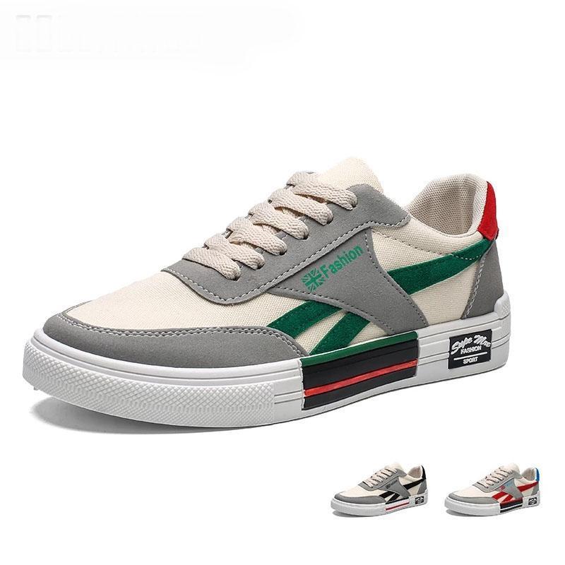الرجال vulcanize أحذية النساء الأزياء قماش الأحذية الدانتيل متابعة عارضة الرجال الشقق الذكور الأبيض أحذية رياضية zapatos hombre 2020 جديد 44