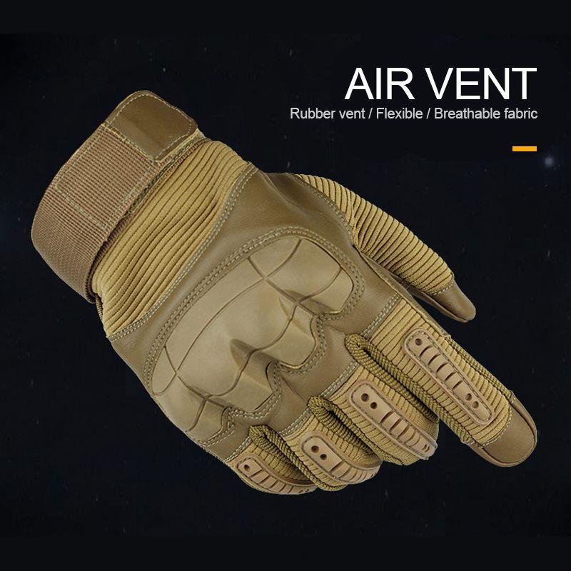 Kampf taktische Handschuhe Männer volle Fingerhandschuhe SWAT Soldat Shoot Fahrrad Multifunktionale Handschuhe