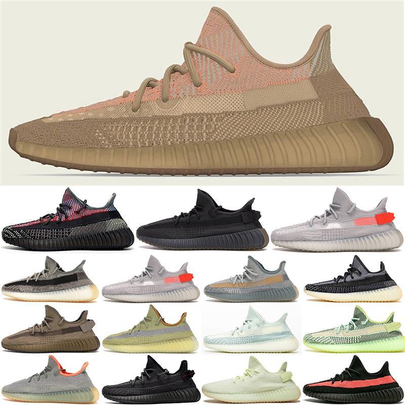 Kanye Eliada Karbon Israfil Erkek Koşu Ayakkabıları Toprak Bataklık Küliş Siyah Statik Zebra Kadın Spor Koşu Sneakers Büyük Boy US 5-13