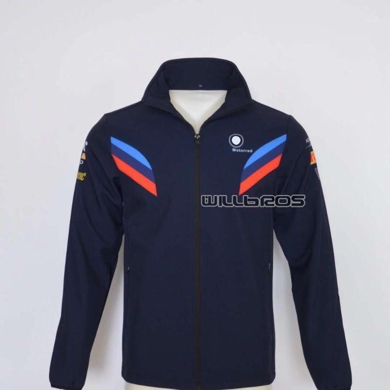 Motorrad de alta calidad Motorrad Full Zip Fleece Sweatshirt para WorldSBK Team Racing Cotton Men's Chaqueta 1