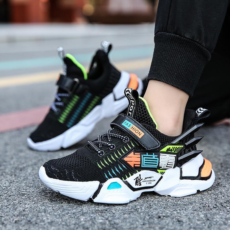 Scarpe KJEDGB bambini di modo Pattini correnti di sport scarpe traspiranti Ragazzi antiusura casuale Schoenen sostenere dropshipping T 1029