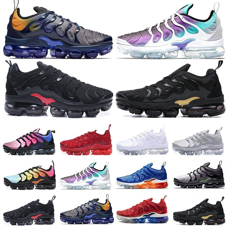 vapormax tn plus New Original Tn Além disso Moda Casual Shoes Venda Volt Hiper Violet Homens Mulheres Sapatos Designer Triplo Branco Preto Azul Vermelho instrutor Tn Sh