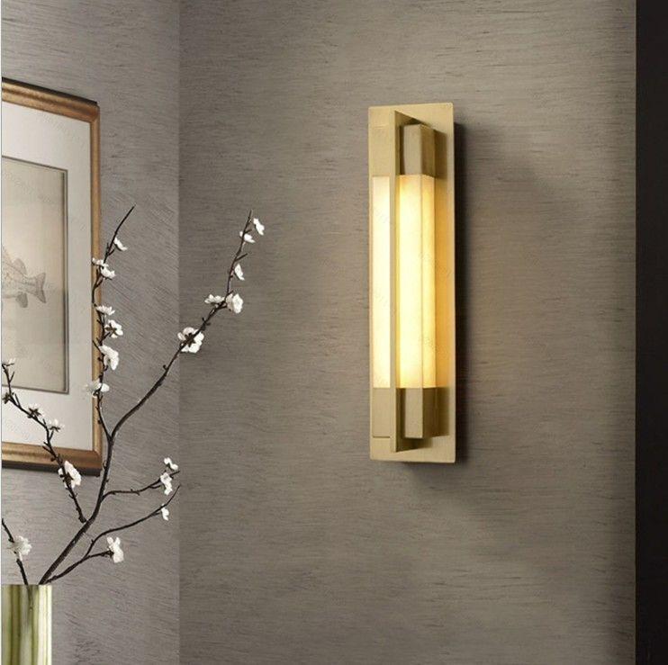 Moderne Décoration Lumière Modernisme mur d'or Lampe LED Lampes Chambre Escaliers Salon intérieur Travée lampes pour mur Sconces