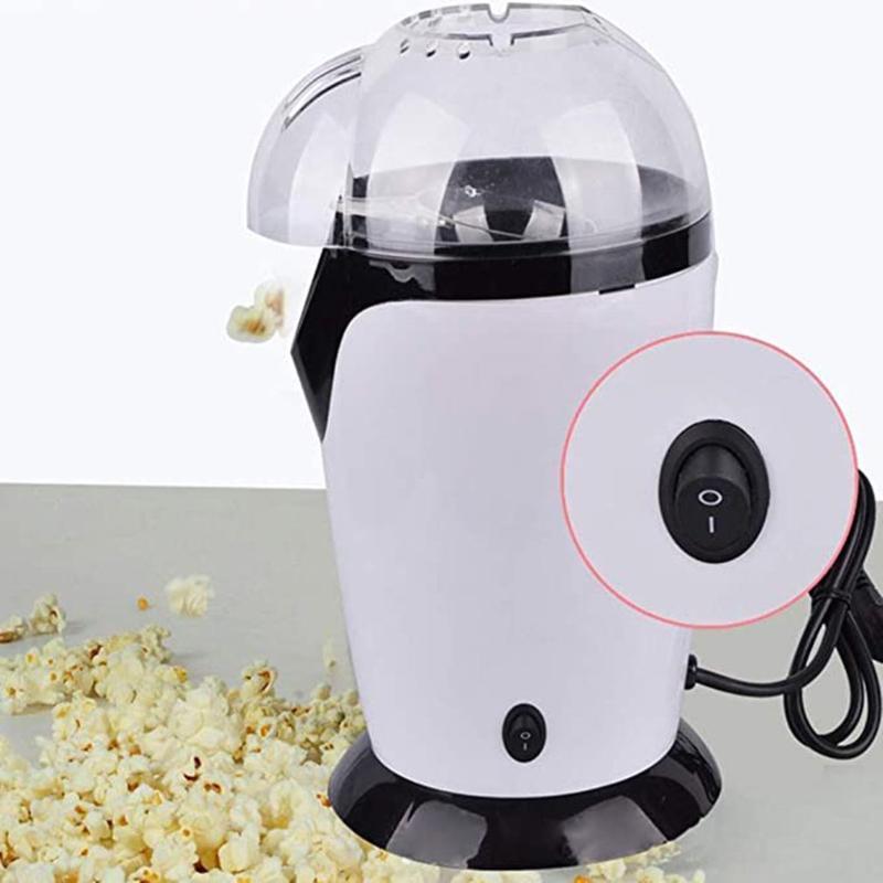 Mini Ev Eletric Popcorn Maker Silikon Popcorn Makinası Sıcak Hava Otomatik Snacks Hediye İçin Çocuk Çocuk