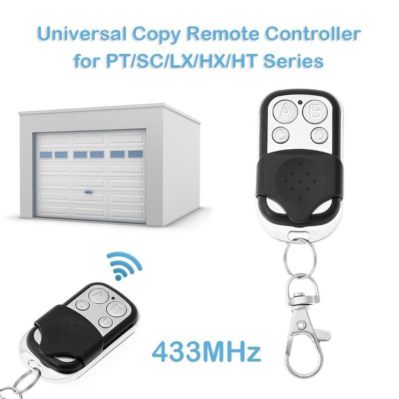Interruttore cancello apriporta universale senza fili universale Porta portello del garage telecomando 433MHz Remote Copy Garage di controllo