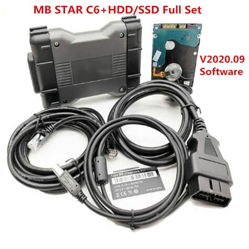 MB STAR C6 أداة تشخيصية SD ربط C6 DOIP استبدال C4 مع da.s س en.try دعم واي فاي v2020.09 الأقراص الصلبة / SSD