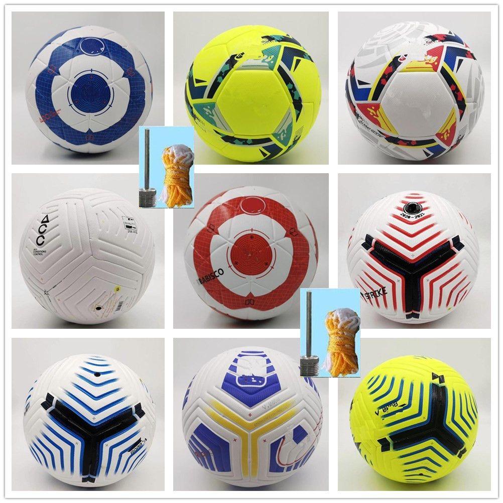 Club League 2020 2021 Fußballgröße 5 High-Grade Nizza Match Liga Premer Finale 20 21 Fußballbälle (Schiffsbälle ohne Luft)