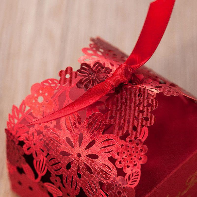Цена завода Price Party Favors Hollow Wedding Candy Box Подарок Подарок Шоколадные коробки Сумки Торт