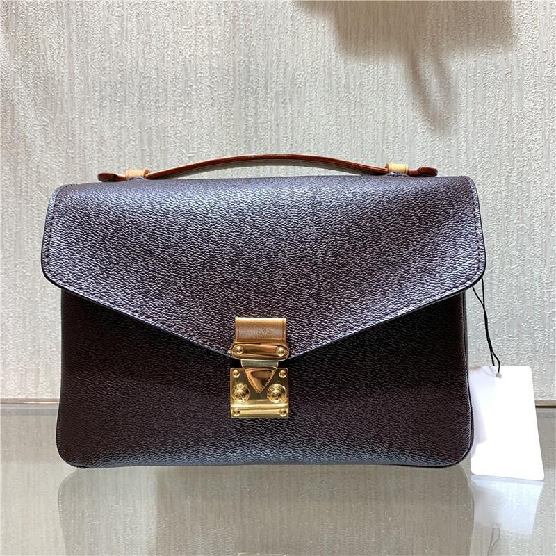 Moda Mulheres Venda Bolsa Messenger Bag Genuine Couro Elegante Bolsas De Ombro Crossbody Sacos Compras Bolsa Embreagens 40780