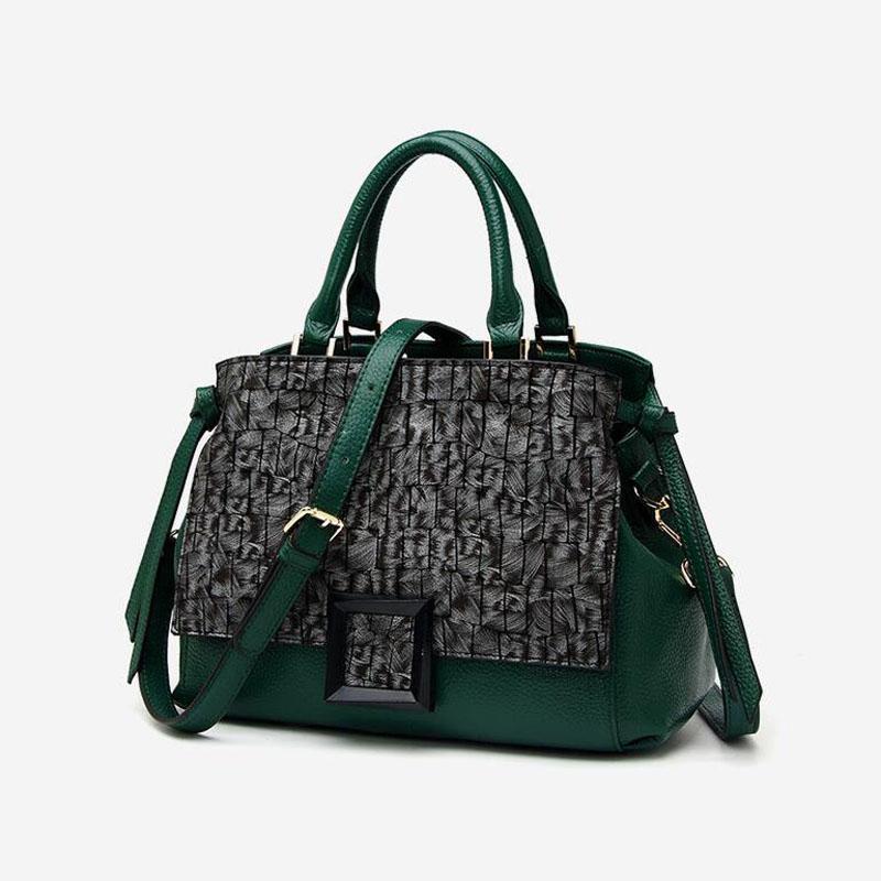 Çantalar inek derisi kadın çanta çanta deri çanta hakiki lüks tote tasarımcı wbghm