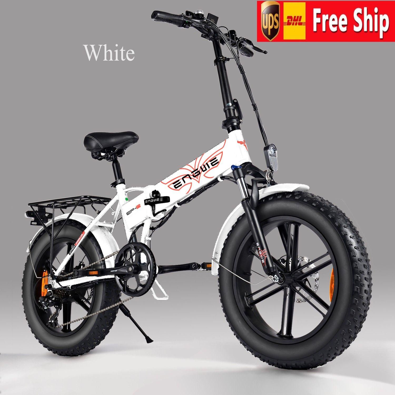 США STOCK Электрический Горный велосипед Пляж снега Велосипеды для взрослых электрический самокат 7 Speed Gear E-Bike с съемной батареей W41217478