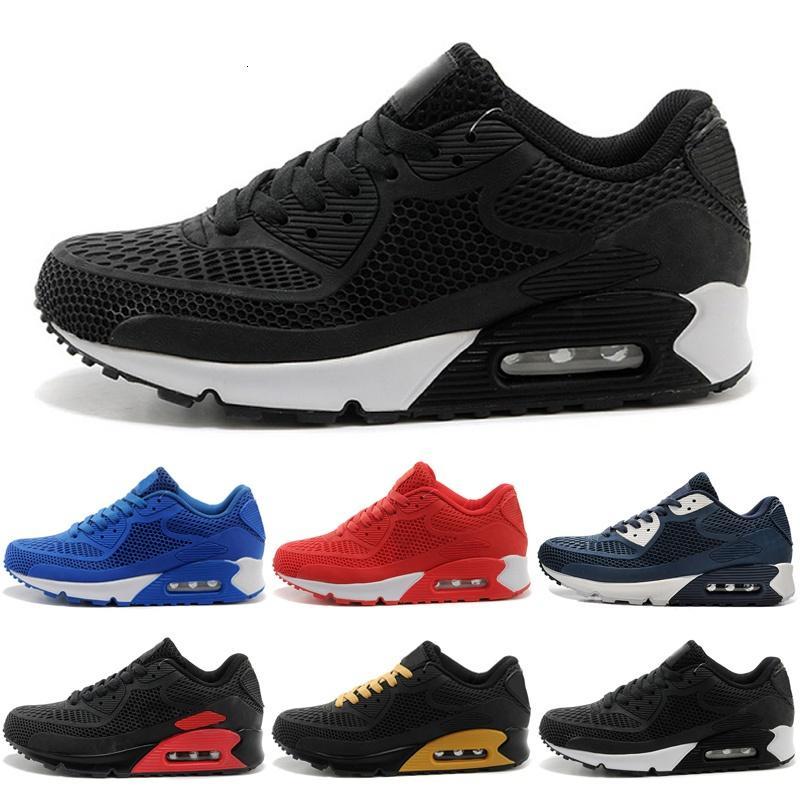 Nike Air Max 90 KPU 90 Nmd bon marché Hot Vente Tavas SE 90 s Thea Imprimer Femmes Hommes Haut Discount Chaussures Baskets authentiques Taille 36-45