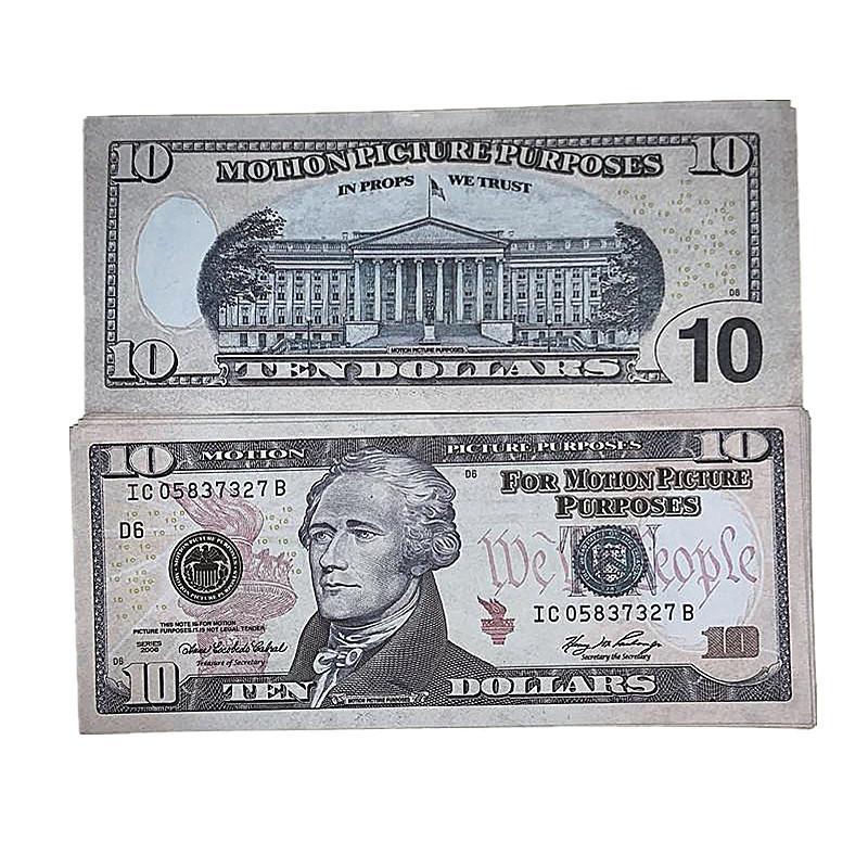 Copia Spedizione 4e Bar American Supqg Valuta veloce dei puntelli per bambini Soldi 100pcs / Pack Movie BancNotes Giocattoli Ripresa Vcrix