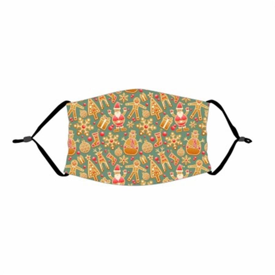 Stampare Maschera Maschere Tessuto adulti PrectiveMask Prova riutilizzabile lavabile # 846