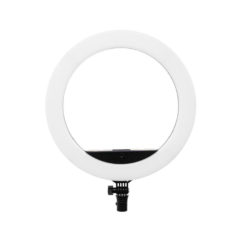 Yidoblo 14'' EU-R14 Dimmable LED Ring Ligh With Wireless Remote Phone Holder Support USB Charge For Makeup Youtube Video Shoot