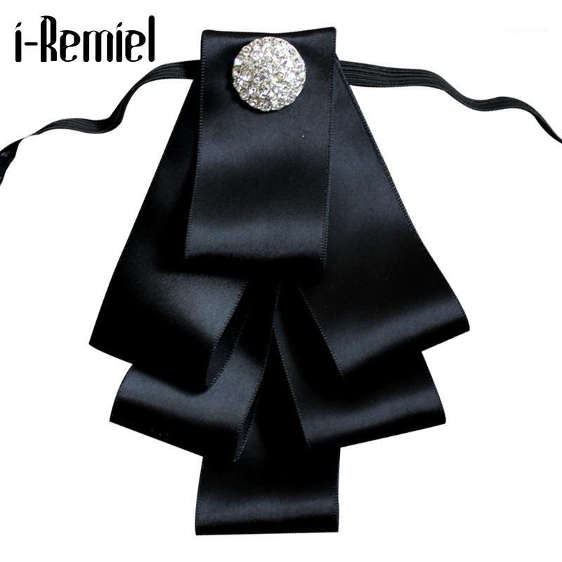 I-Remiel Bows Bowtie Bowties Breastpin Tessuto Glod Velvet Pins e Spille Moda Mujer Broche Cravat Broches risvolto Groomsmen1