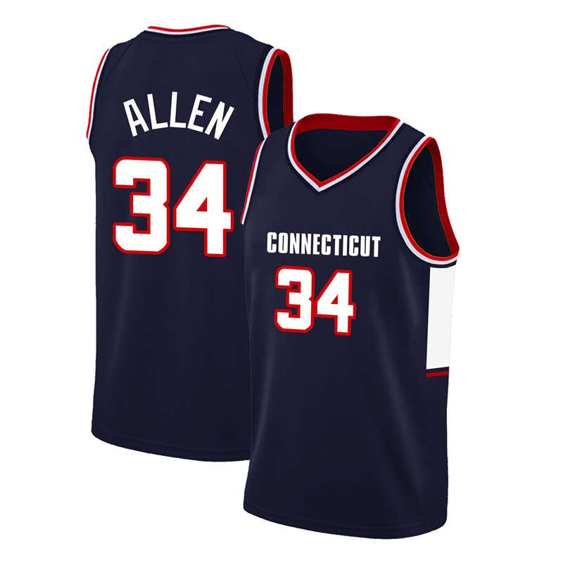 Anfernee 25 Hardaway NCAA Jersey David 50 Robinson Damian 1 Lillard Ray 34 Allen Jersey adult mens