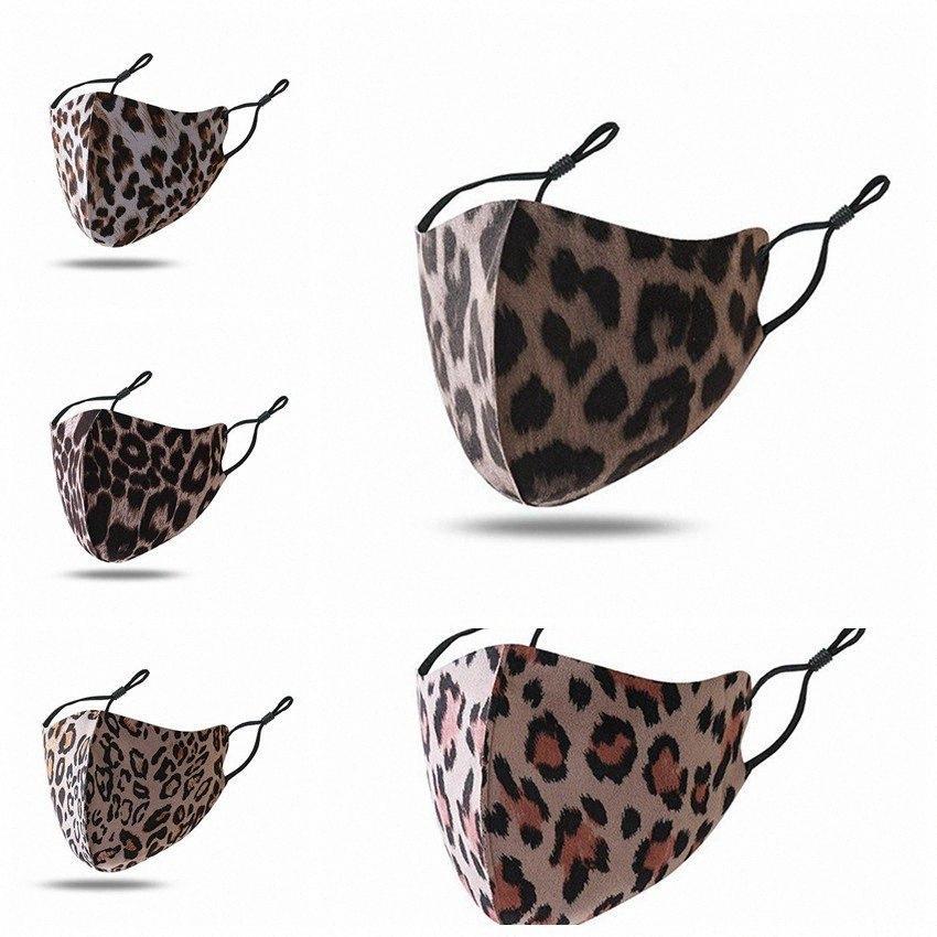 Творческие Маски Леопард для взрослых Моды моющегося пыле Face Mask Спорта на открытом воздухе езда Велоспорт мужчины и женщины Печати Mouth маски II H5op #