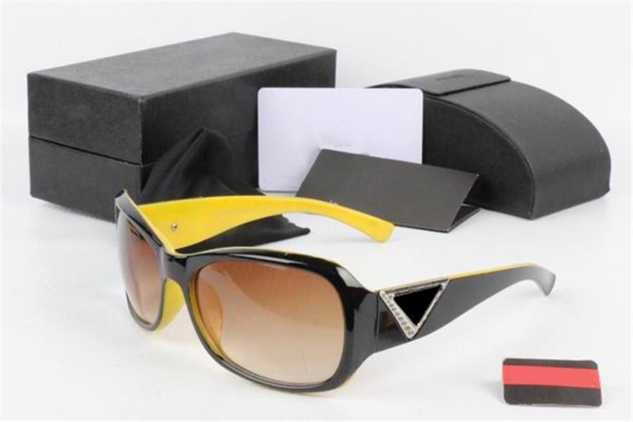 패션 선글라스 여름 유니섹스 선글라스 전체 프레임 Adumbral Goggle 남자 여성 비치 안경 UV400 여자 9 색 옵션 상자
