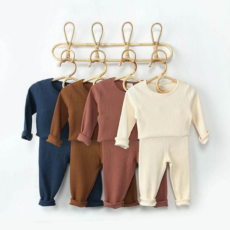 Roupa infantil para bebê meninos roupas definir primavera bebê meninos roupas t-shirt + calça 2 pcs roupa traje terno roupas recém-nascidas 201127