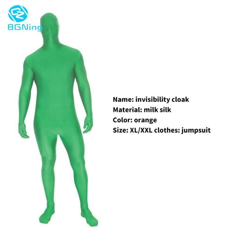 BGNing Haut Anzug Foto Stretchy Körper Green Screen Anzug Video Chroma Key Enge bequeme unsichtbare Wirkung