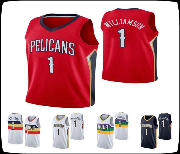 New OrleansPelikaneMänner Zion Williamson Swingman Icon Association City Basketball Jersey
