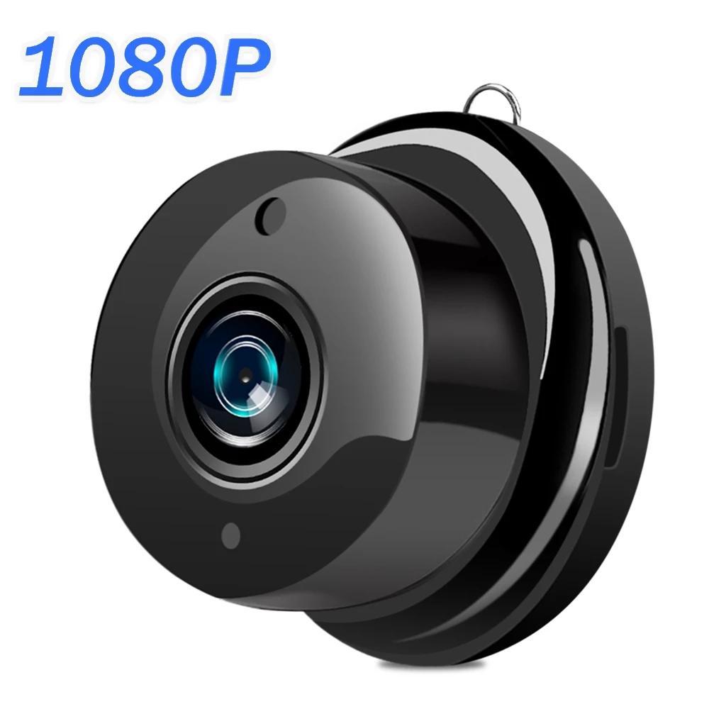 Mini cámara WiFi inalámbrica 1080P | Cámara de seguridad para el hogar, CCTV IP, Visión nocturna IR, Detección de movimiento, Monitor de bebé, P2P