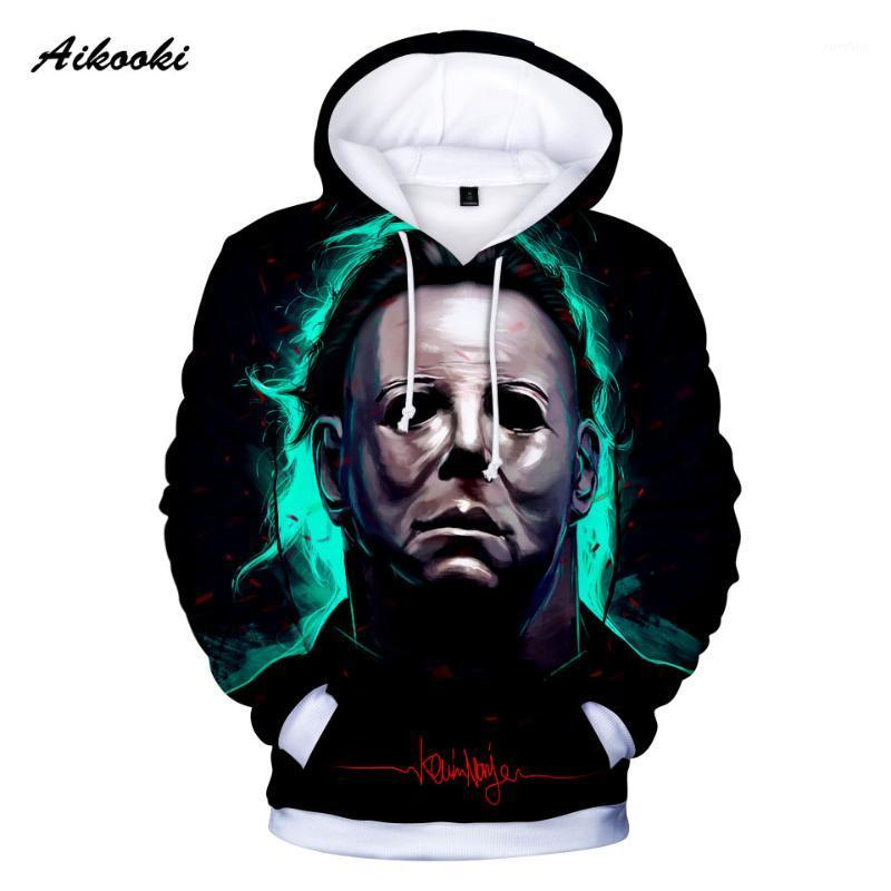 New Desing Men/Women Michael Myers halloween Cosplay 3D Hoodies 3D Print Autumn Winter Hooded Sport Clothes Halloween Hoodies1