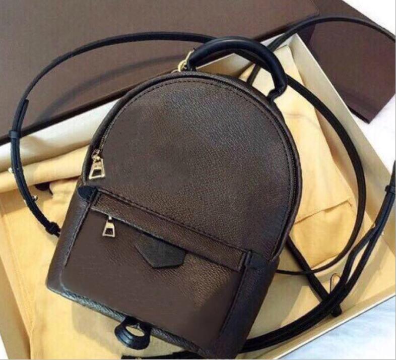 Femmes de haute qualité Sac PU sac à dos Mini sac Sacs En Cuir Sacs School Fashion Springs Lady Enfants Taille de voyage GVBKS